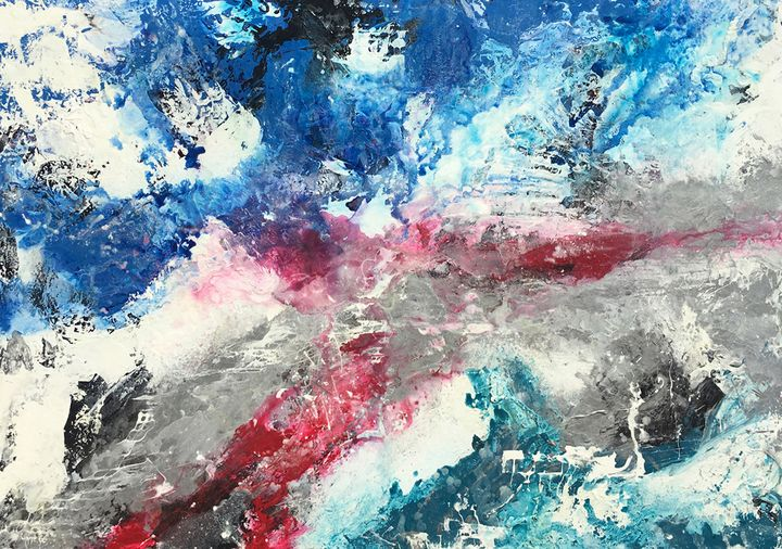 Time To Breath - Lynne Godina-Orme | Australian abstract artist