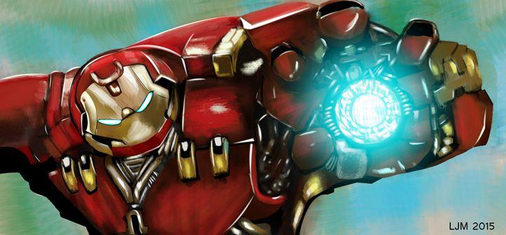 Unofficial Hulkbuster Digital Art - Luke Morgan