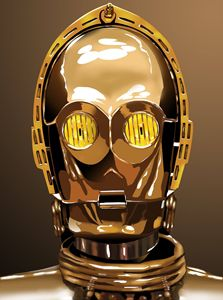 Unofficial C3P0 Digital Artwork