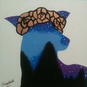 Galaxy Doe Print
