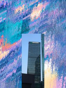 Highrise building illusion
