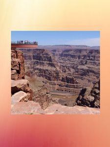 Skywalk glass bridge grand canyon
