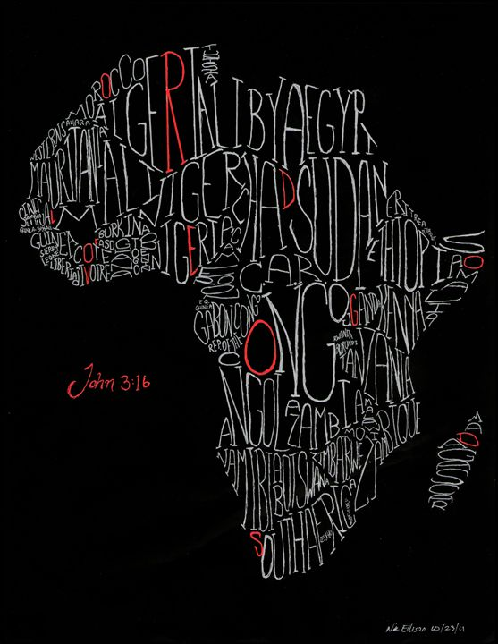 Africa John 3:16 - Nikolai Draws