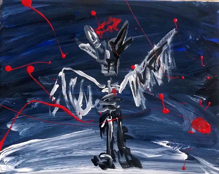 Skull angel - Galaxy Gr