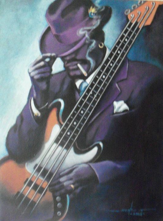 Bass Player - Joe Atkins Designs