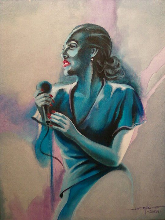 Lady Sings the Blue - Joe Atkins Designs