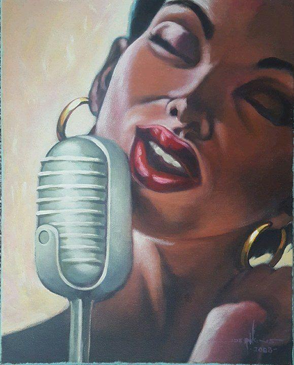 The Lady Sings - Joe Atkins Designs