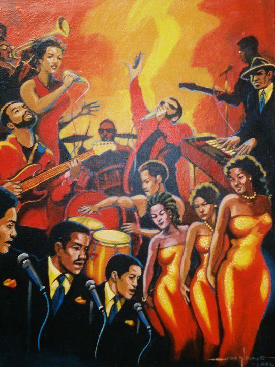 All the Musicians - Joe Atkins Designs