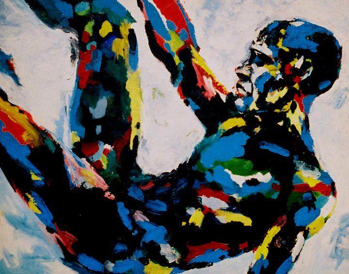 The Abstract Man - Joe Atkins Designs