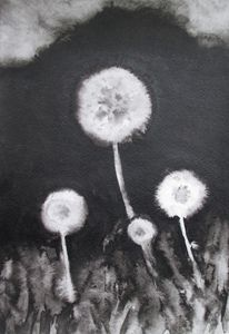Family of Dandelions - Julia Gogol Art