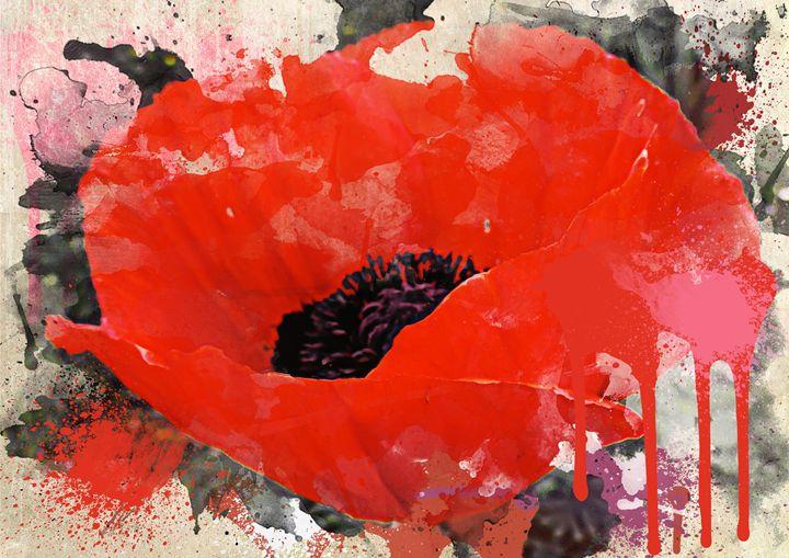 Poppy - fine art print - Julia Gogol Art