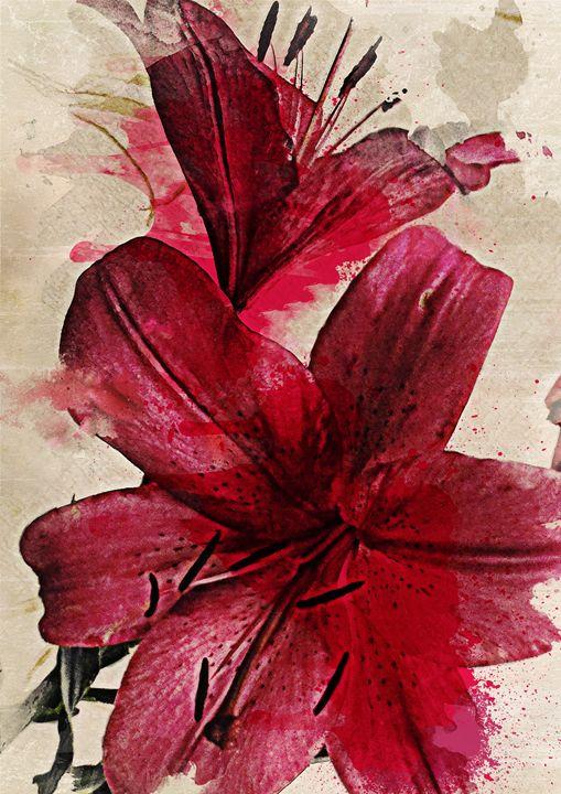 Lilies - fine art print - Julia Gogol Art