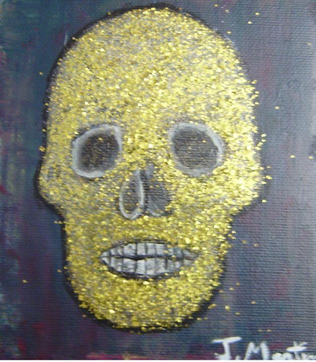 golden skull - Jean Martin