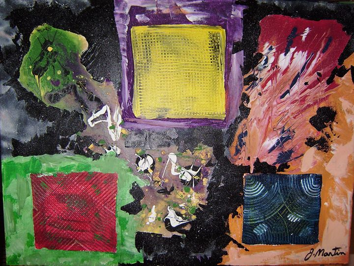 No 17 3 squares - Jean Martin