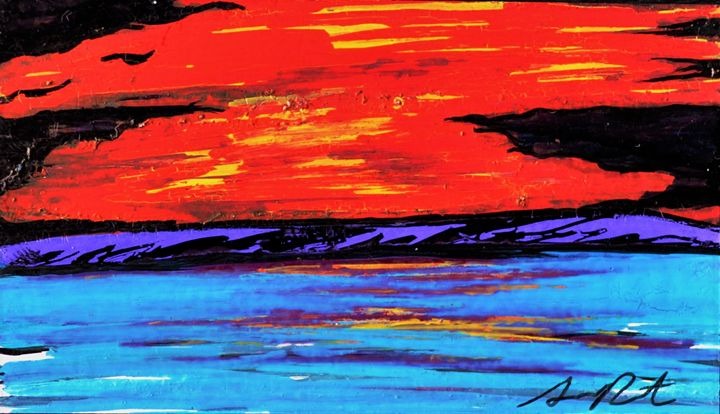 Sunset - Armando Renteria Fine Art