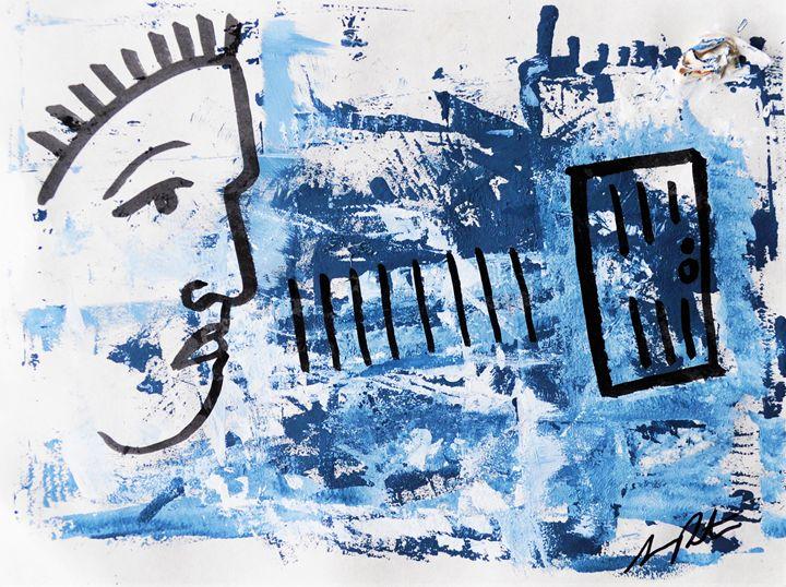 The Focused Fear Works For You - Armando Renteria Fine Art