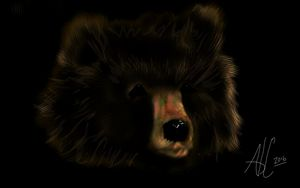 Bear Face - Ashley Hawkins