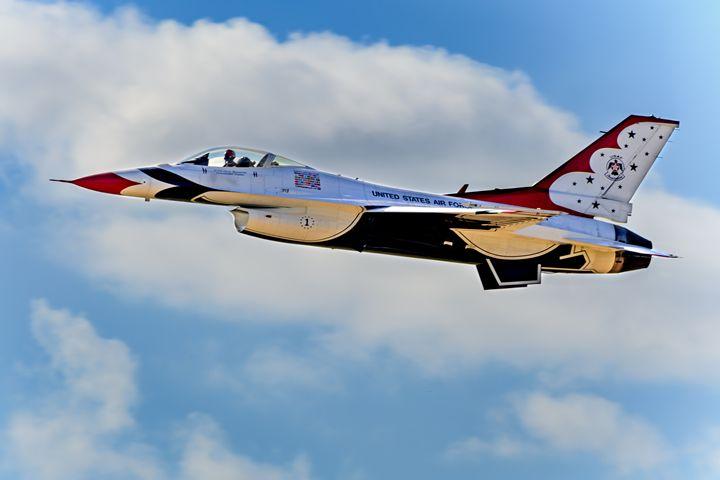 Thunderbird One USAF - Jarrett Art