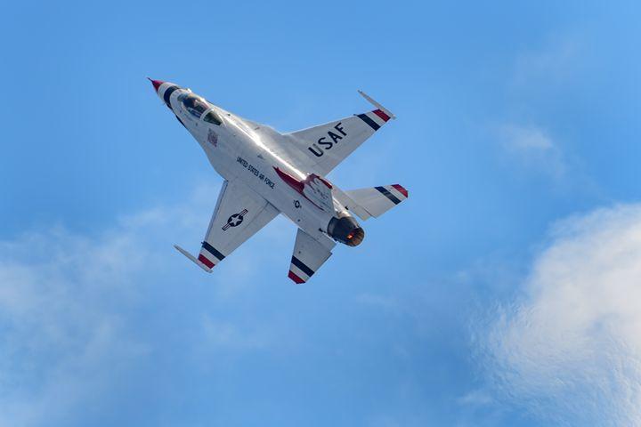 USAF Thunderbird Heatwave - Jarrett Art