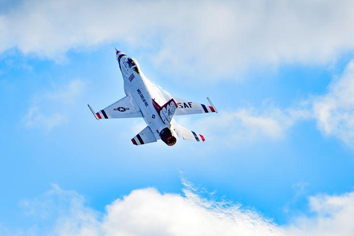 USAF Thunderbird Afterburner - Jarrett Art