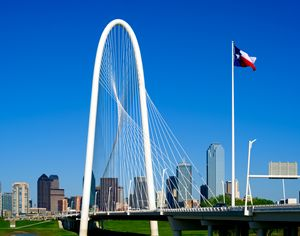 Dallas, Texas Skyline with Margaret