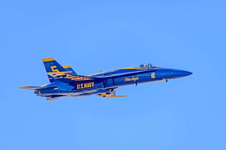 Blue Angel F-18 Hornet - Jarrett Art