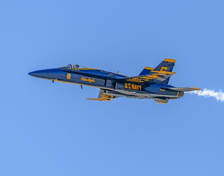 U.S. Navy Blue Angels F/A 18 Hornet - Jarrett Art