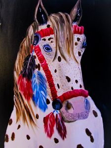 Western Pony - Melanie Lutes Art by Mel