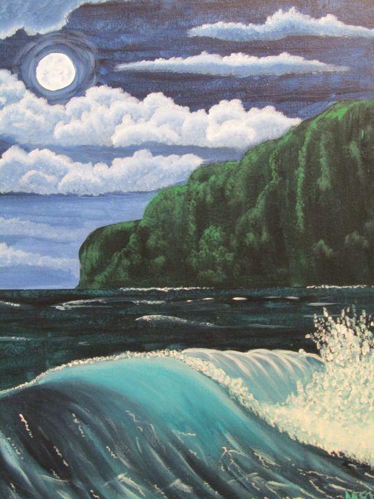 Maui Midnight - Melanie Lutes Art by Mel