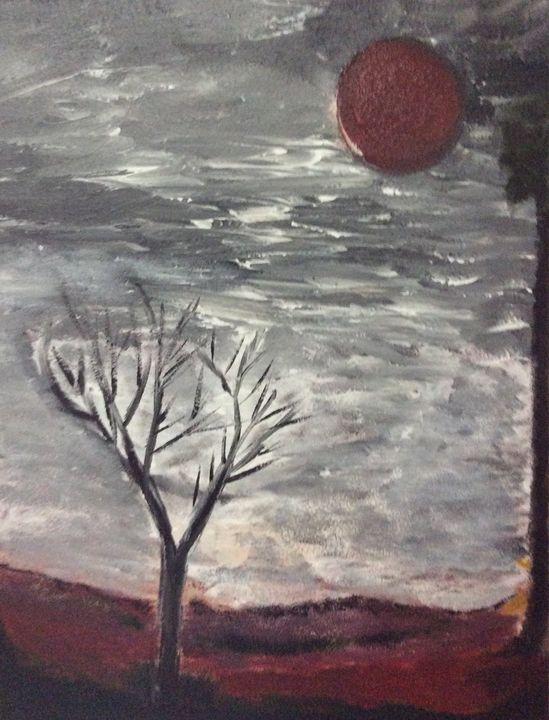A Woman in a Stormy Night - DocH