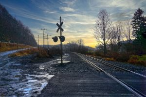Railroad crossing - lance manning photography