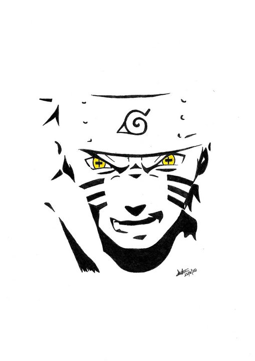 Naruto Print - Shadow Anime Arts
