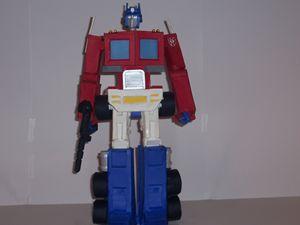 Multiposable paper Optimus Prime G2