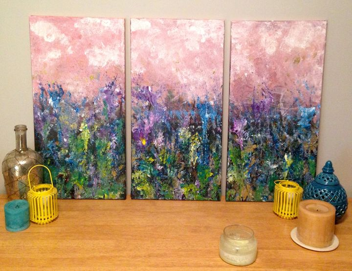 Sunset wildflowers - JordonLee