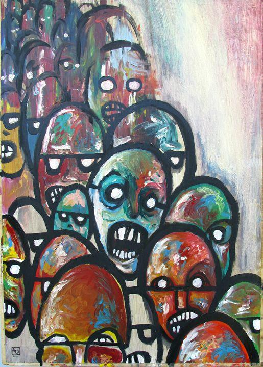 Zombie Horde - Aaron W. Doughty