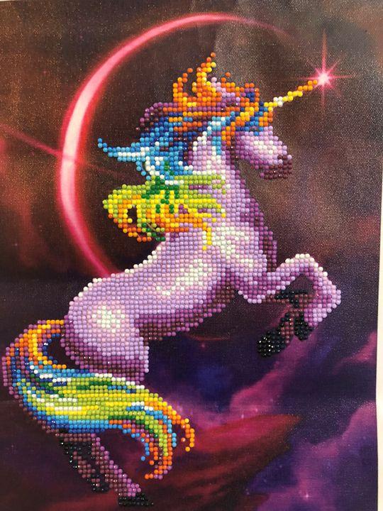 Unicorn 5D Diamond Art - Cynthia's Art Work
