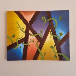 altanaghum (Harmony) Oil on canvas