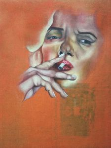 The Smoking Marilyn
