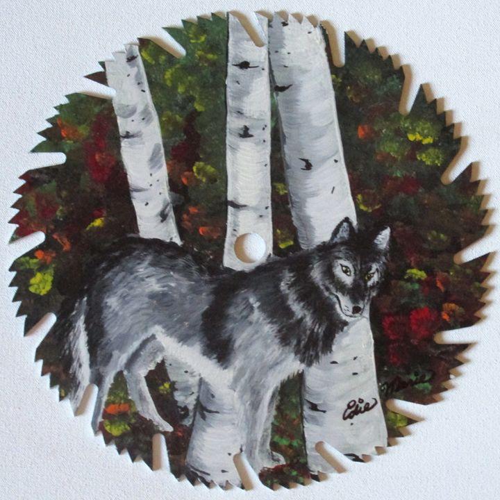 The Beautiful Wolf_1 - EdieMarie's Art