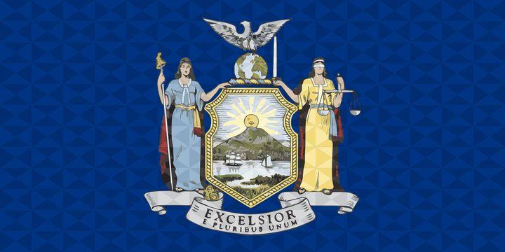 New York State geometric flag - Dan Duarte