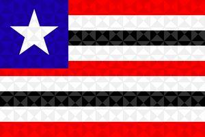 Bandeira Maranhão Grafismo Geométric