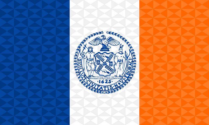New York City Graphism Flag - Dan Duarte