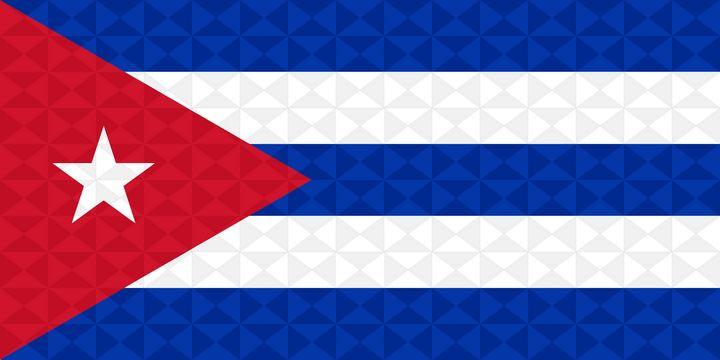 Bandera Cuba Grafismo Geometrico - Dan Duarte