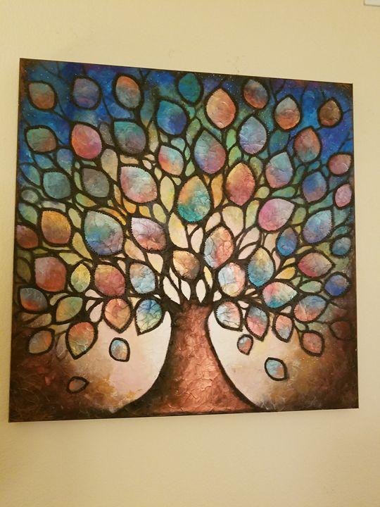 Jeweled Leaf Tree - Sarah G.
