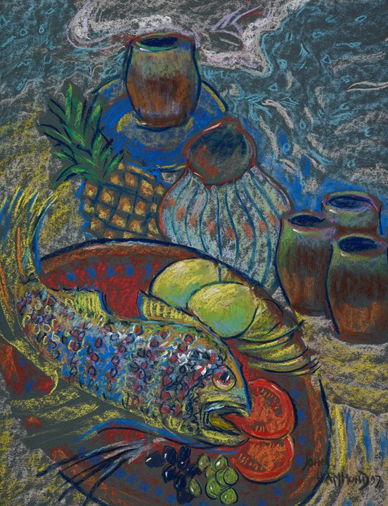 Fish on a Plate - Joan Hammond