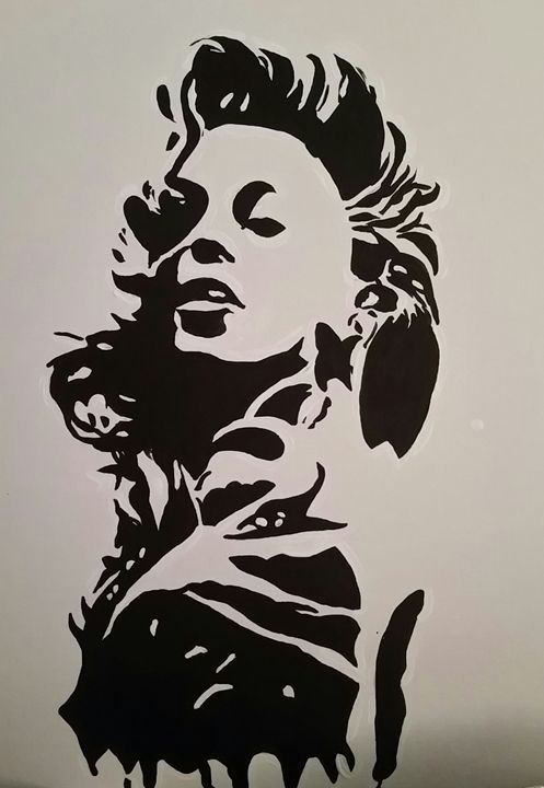 'Yonce (Wet Ink Collection) Painting - Chanell_Sweet