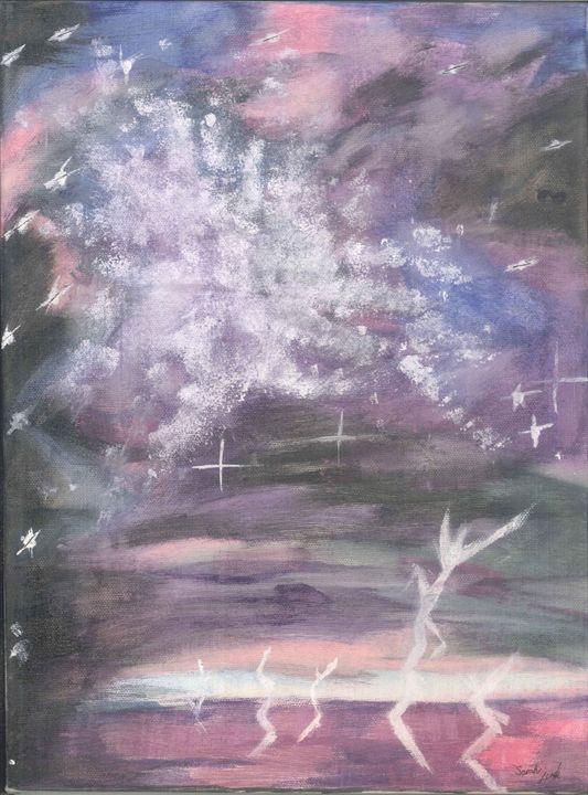 Galaxy - My paintings