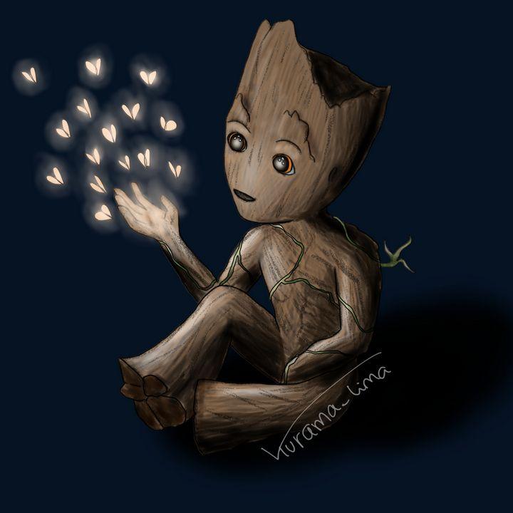 Baby Groot - Kurama_Lima