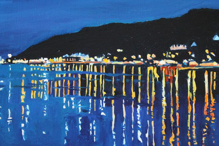 Mumbles in the Night Time - Emma Cownie Art