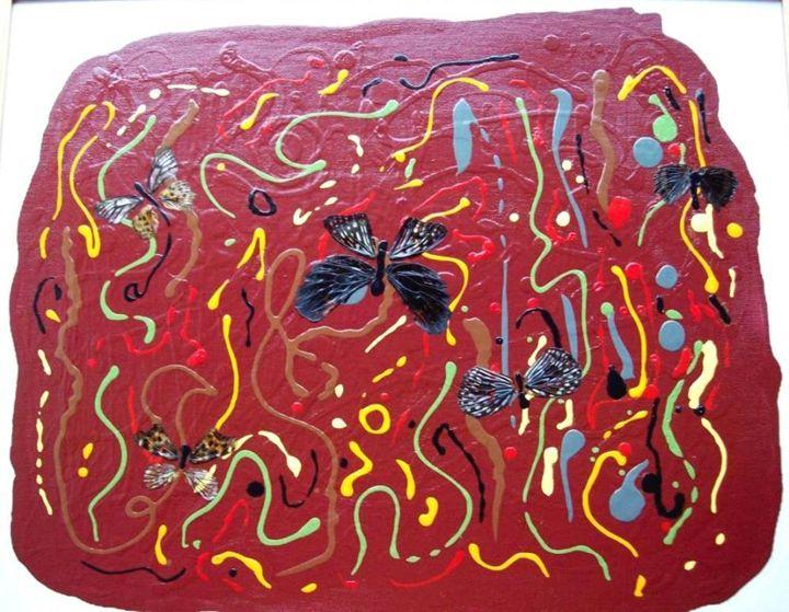 Butterflies rising - CLINE GALLERY